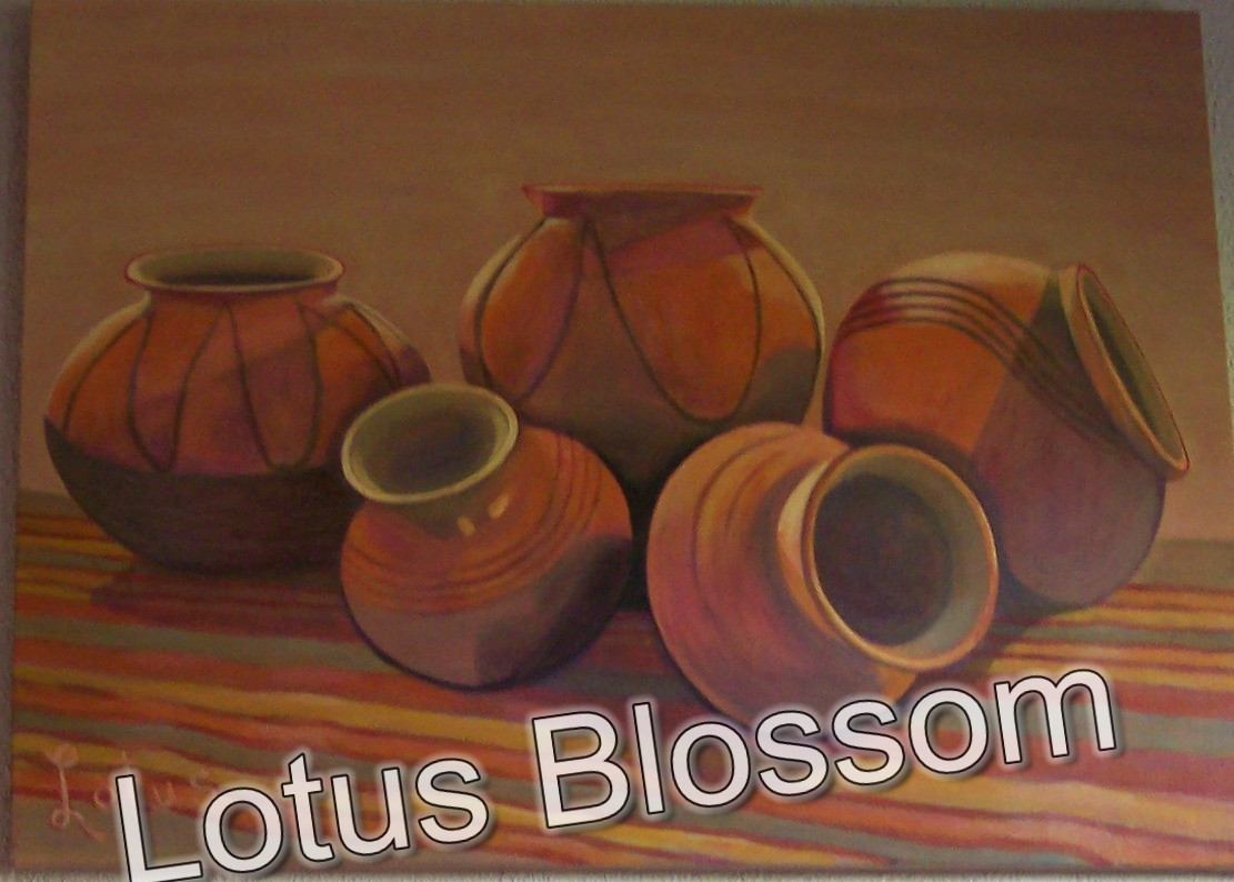 Indian pottery 2 by Lotus