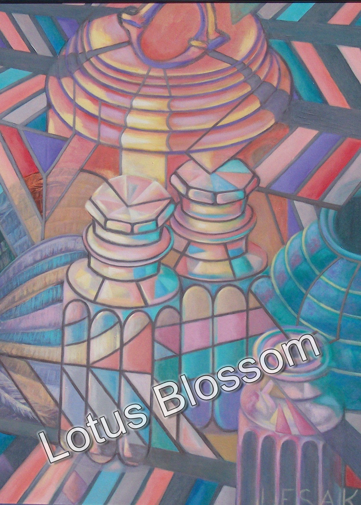Facets of light and form by Lotus Blossom