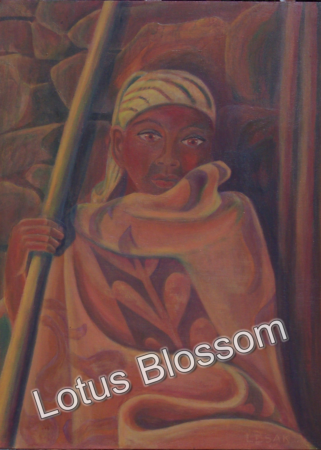 African Solitude by Lotus Blossom