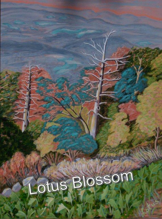 Lotus Blue Ridge Parkway 4